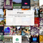 #Travel: Search for topics shared among city locations